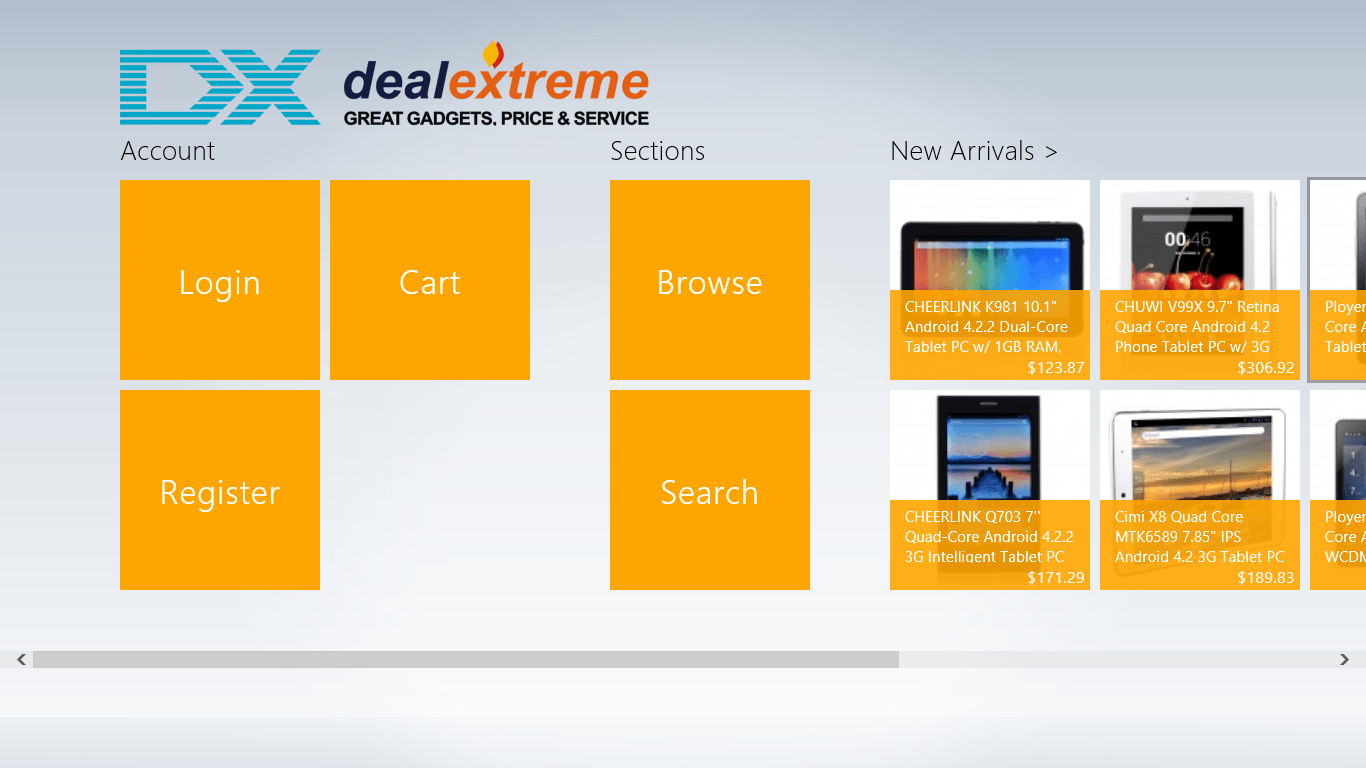 Dealextreme Windows 8